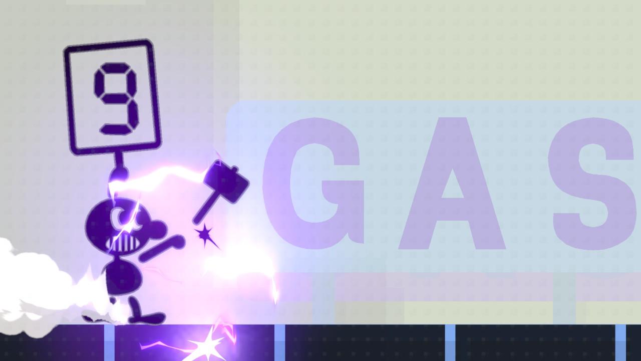 coup spécial de Mr. Game & Watch