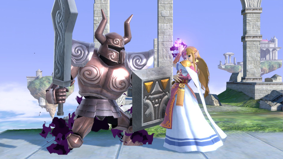 coup spécial de Zelda